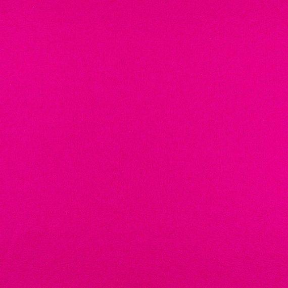 "100% Wool Felt by the Yard // Shocking Pink // 72"" Wide x 1 yd x 1.2mm Thick"