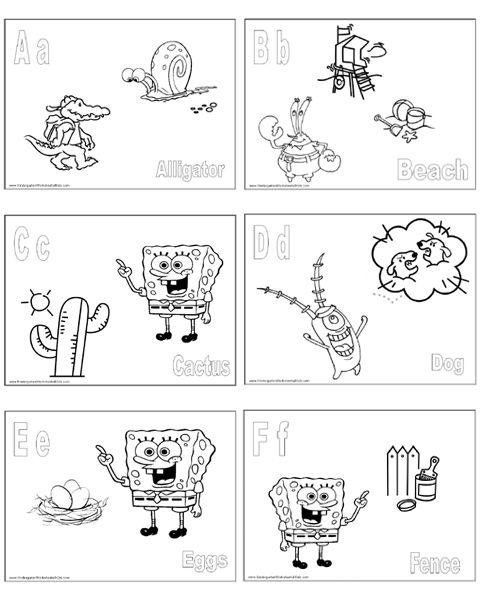 Spongebob Alphabet Coloring Pages Abc Coloring Pages Abc Coloring Pages Alphabet Coloring Pages Abc Coloring