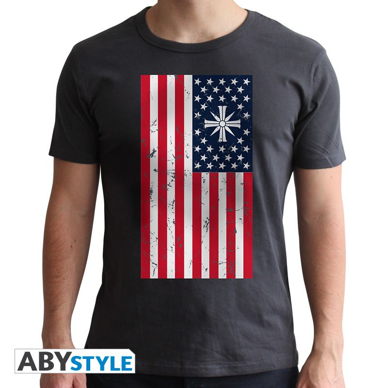 Far Cry T Shirt Flag Mens Tee Shirts T Shirt High Quality T Shirts