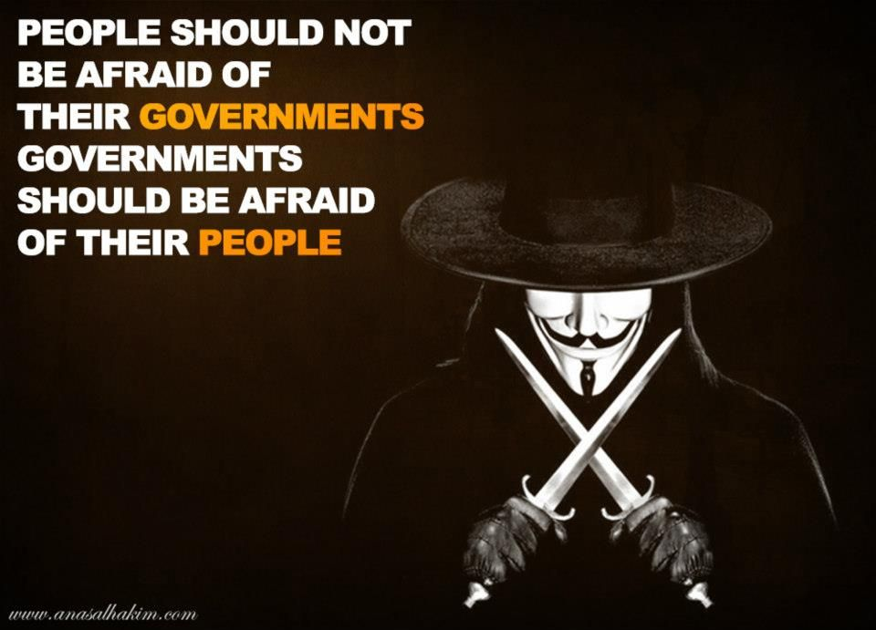 quote from film V for Vendetta the struggle Pinterest