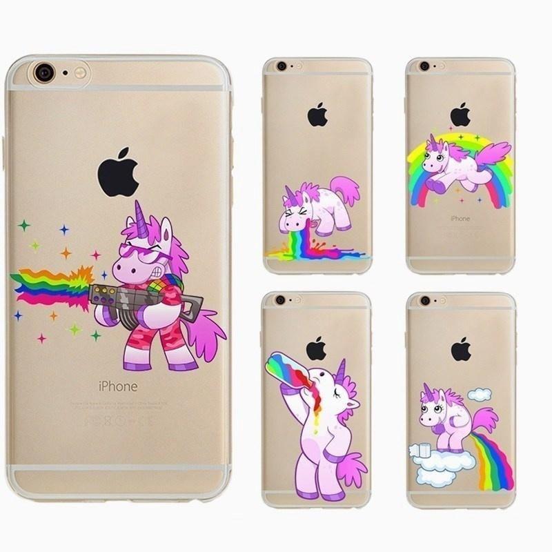 Cute unicorn Case for Apple Iphone 6