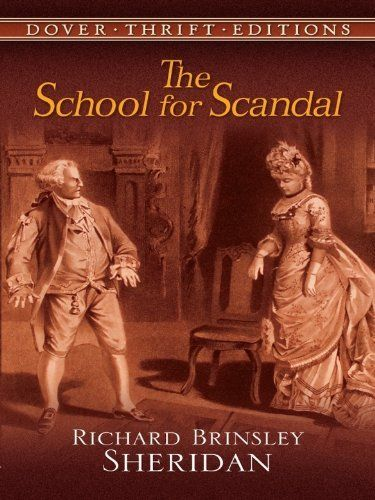 the school for scandal characters