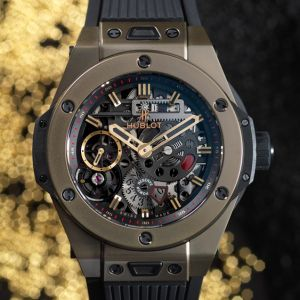 hublot s magic gold is indestructible and scratchproof watch surface
