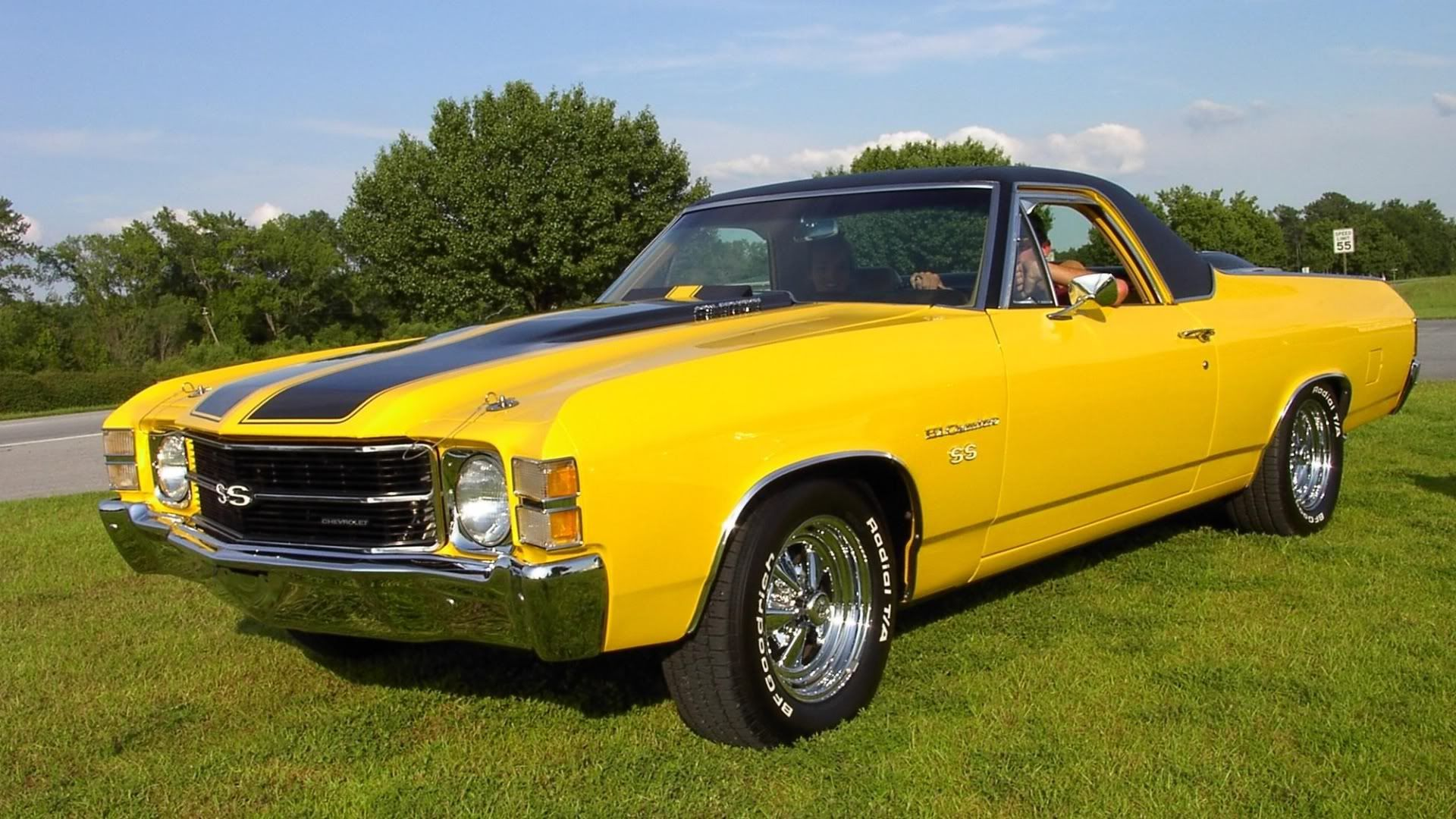 El Camino Classic Cars Chevy Muscle Cars Old Classic Cars