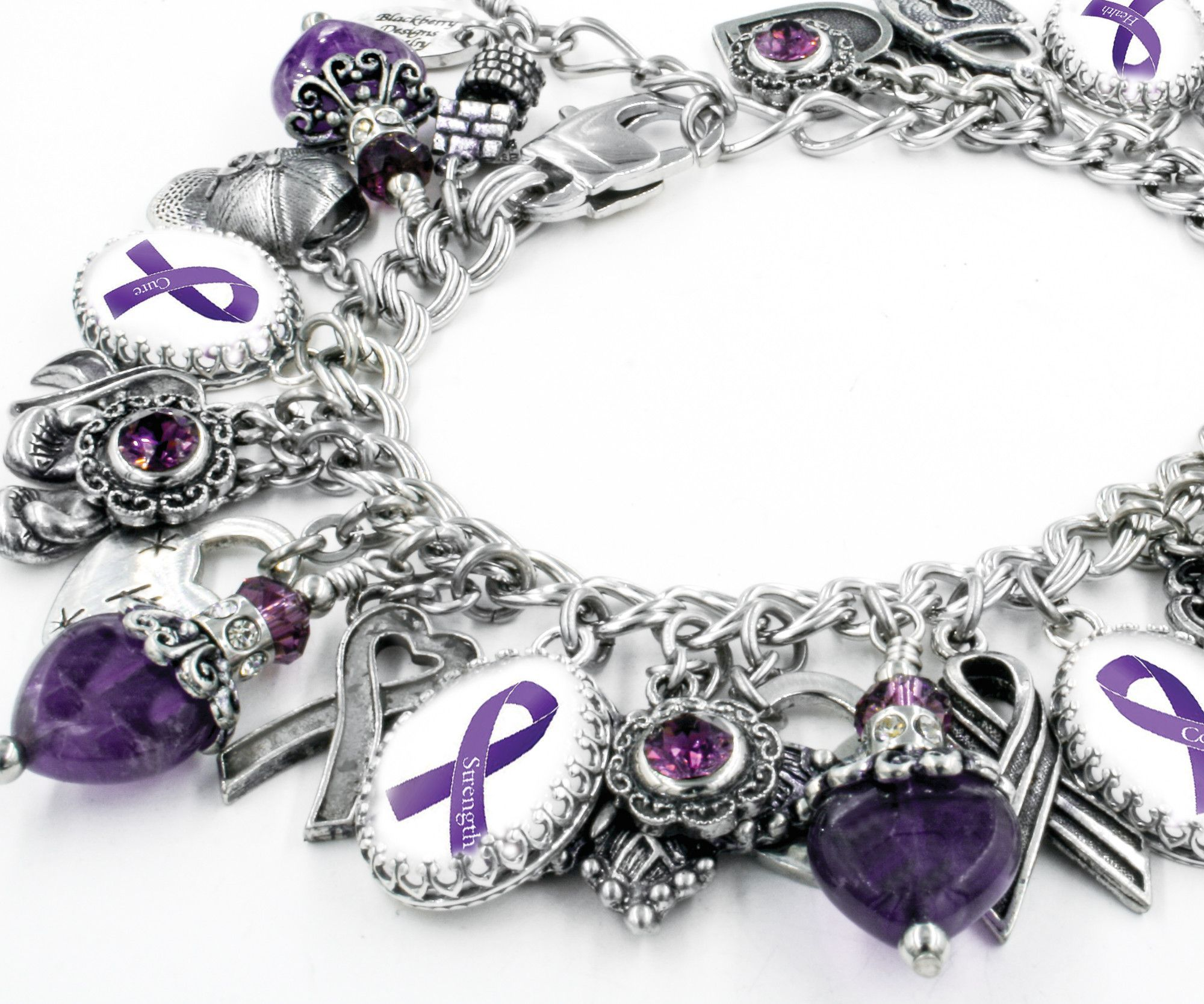 ribbon purple idai commons co baskan file bracelet purpleribbon wikimedia awareness alzheimer svg