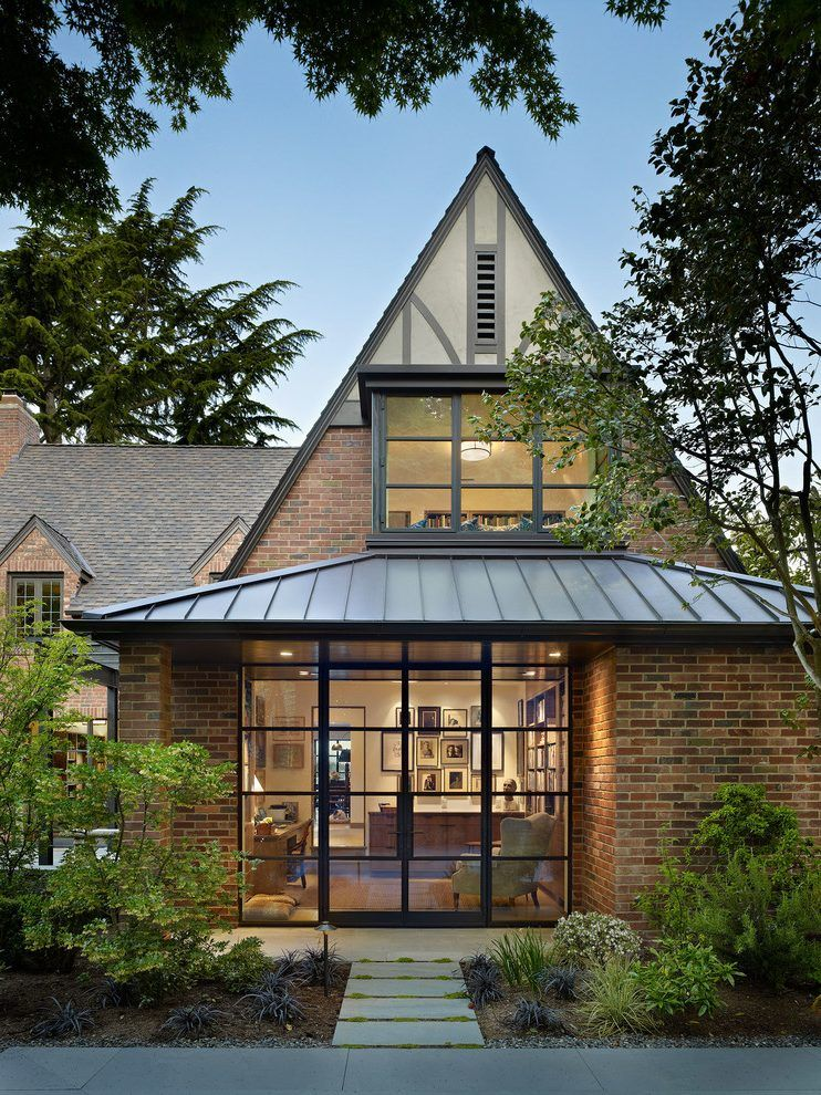 Best Gable Roof Modern Exterior Traditional With Exterior Tudor 400 x 300