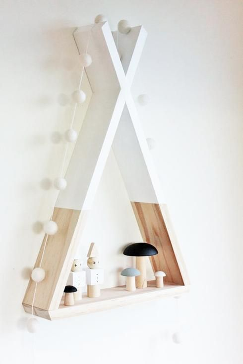 10 tag res et tablettes originales r aliser soi m me. Black Bedroom Furniture Sets. Home Design Ideas