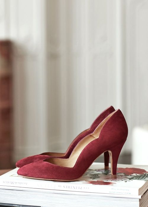Escarpins High Berry A Night Out Www Sezane Com Sezane Anightout