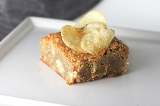 The Sweet Art: Potato Chip Blondies from Whisk: A Sustainable Bakeshop