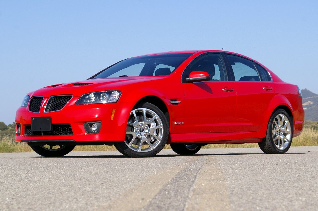 "Traded the HHR for our new ""family race car"", 2009 Pontiac G8, GT, with a GXP bumper. Still have this beauty! We call her Scarlett."