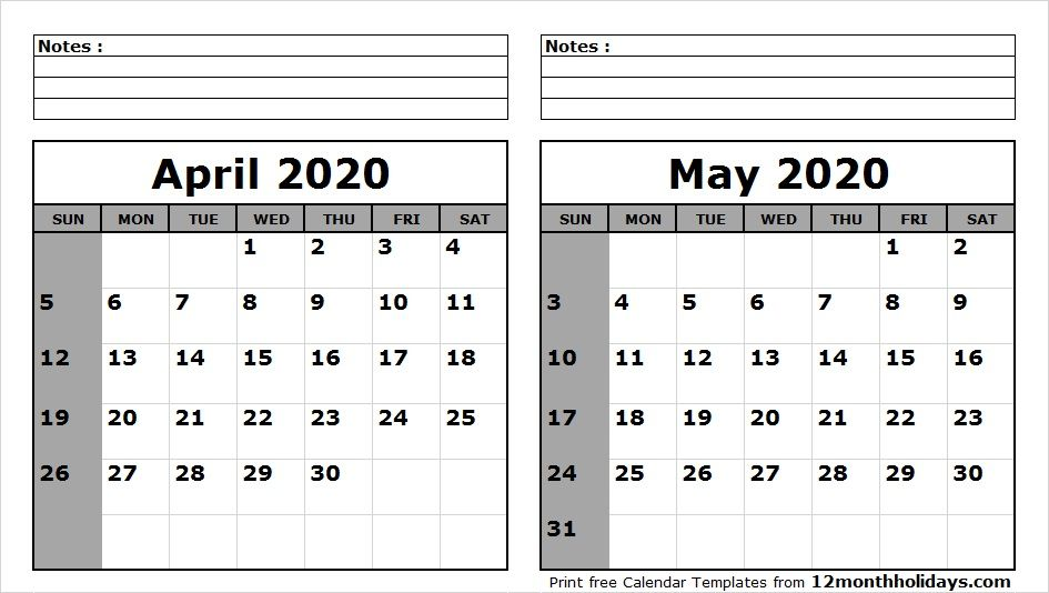 May 2020 Calendar Wallpaper April May 2020 Calendar Printable | 2018 Calendar | 2021 calendar