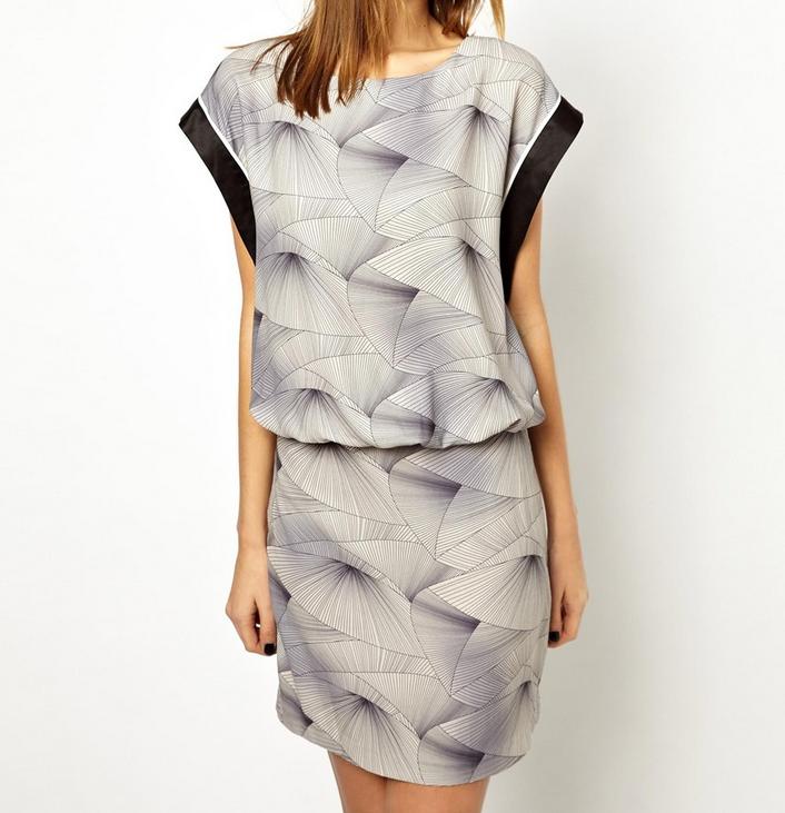Y.A.S Kimo Printed Dress