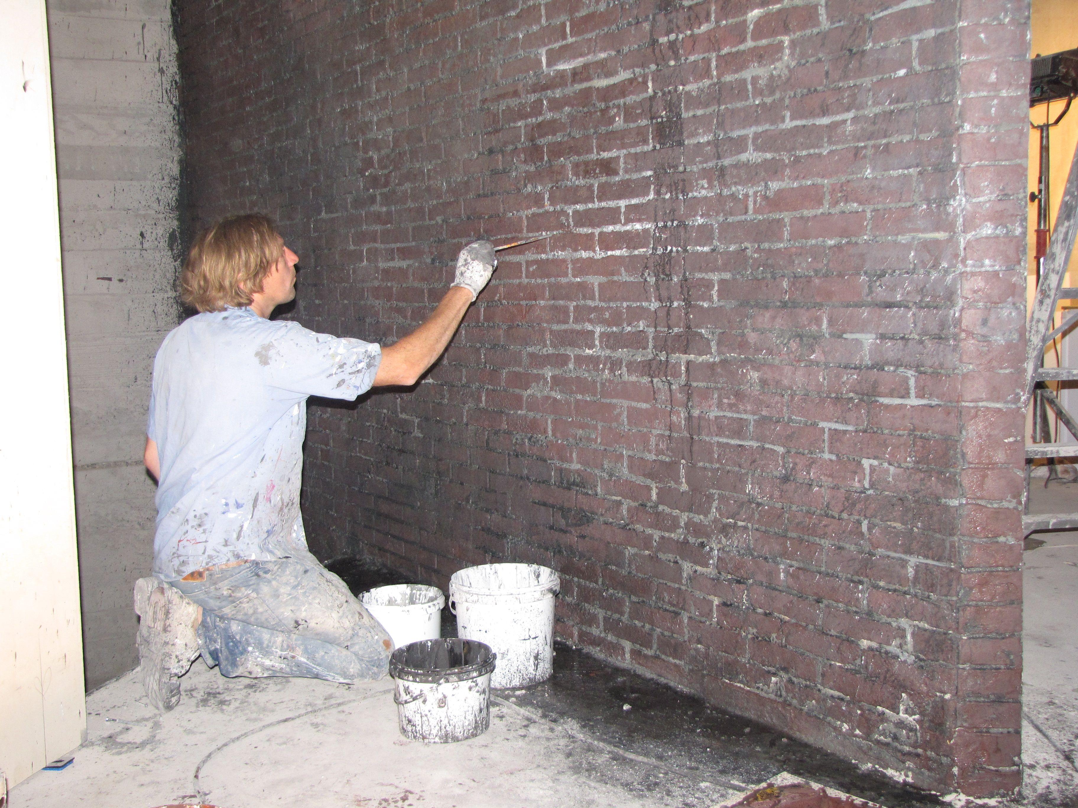 nieuwe muren oud laten lijken kloosterboer muren