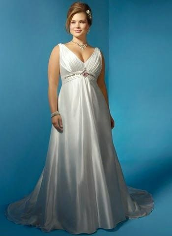 Vestidos de novia para gorditas y bajitas cortos