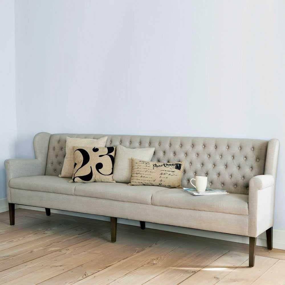 Im Esszimmer So Weich Und Bequem Sitzen Wie Im Wohnzimmer: Ein Tischsofa  Kombiniert Mit Sesseln Macht Es Möglich.