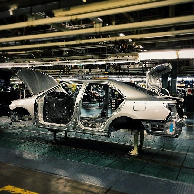 Toyota Motor Manufacturing Kentucky In Georgetown Ky Visit The Plant And Go On A Factory Tour