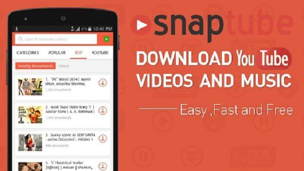 SnapTube - YouTube Video Downloader APK Download   Free Net