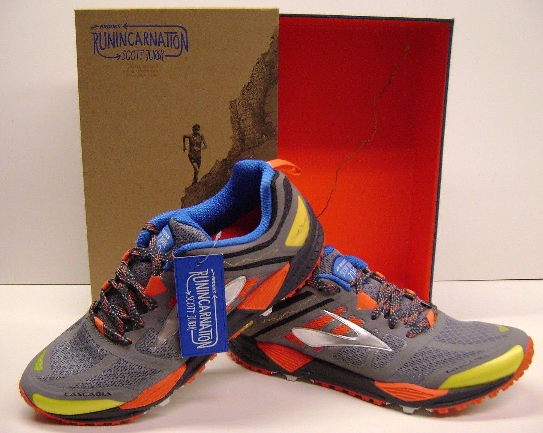 bc9090733fc99 Brooks Scott Jurek Cascadia 2189 Men s TRAIL Running Shoes Size 11 ...