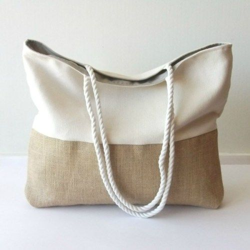 beach Strandtasche tasche bolsa a españ mano bag Bolso playa hecho wSPPt