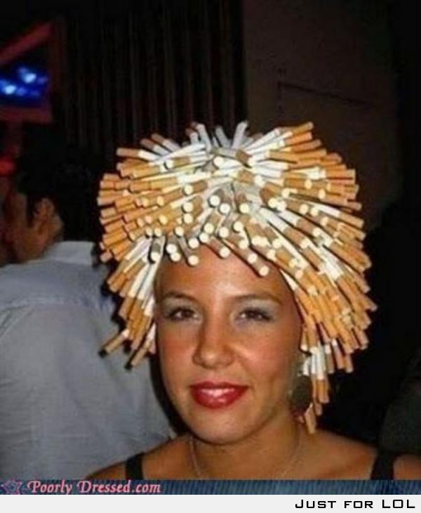 Hair Style Level:Smoking.