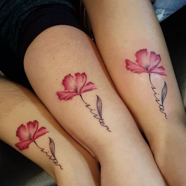 40+ Super Cute Sister Tattoos … | Pinteres…