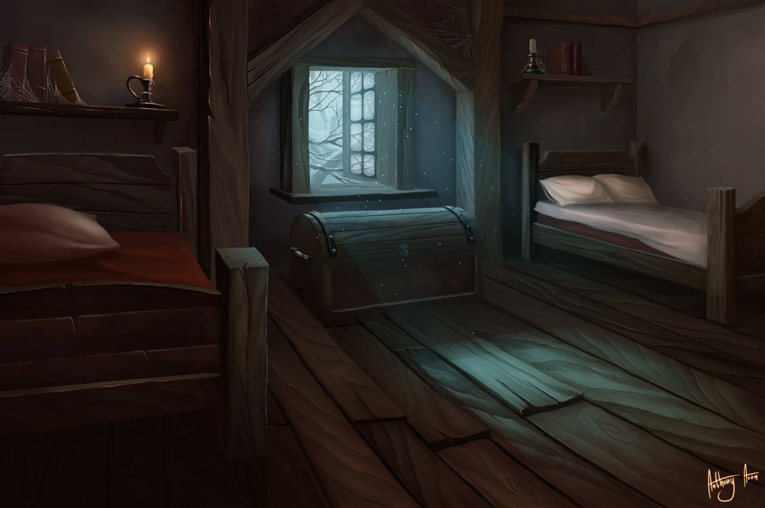 Bedroom by anthonyavon on deviantart rooms pinterest for Scenery wallpaper for bedroom