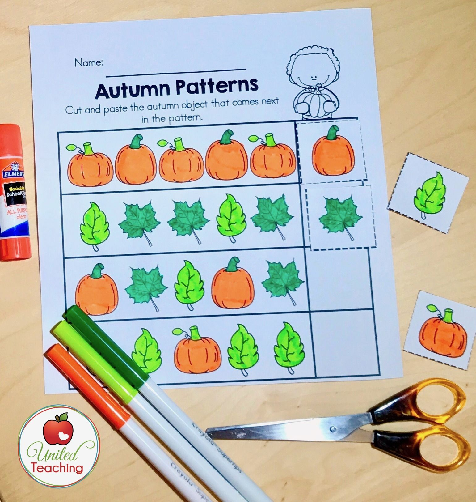 No prep activity to teach and reinforce patterns! | Numeracy ...