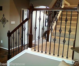 Staircase Double Basket Iron Baluster   Cheap Stair Parts   FAST SHIPPING
