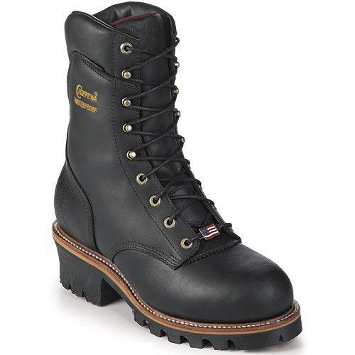Mens cowboy boots, Logger boots