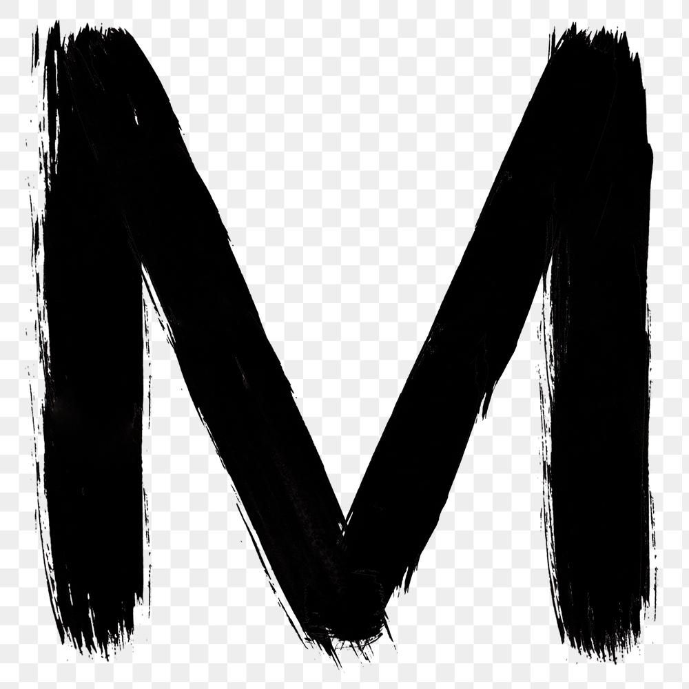 Letter M Png Grunge Hand Drawn Font Typography Free Image By Rawpixel Com Mind Hand Drawn Fonts Typography Hand Drawn Typography Fonts