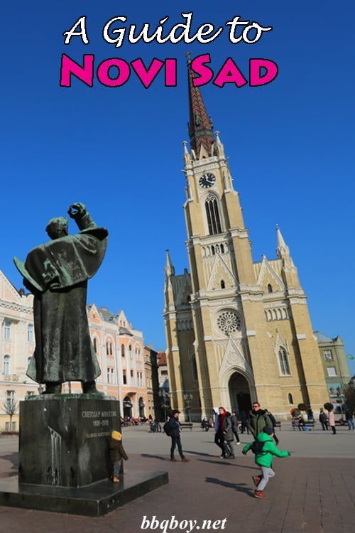 Novi Sad is a really pretty city with the 2nd largest fortress in Europe. All about Novi Sad here...as well as why we really like Serbia #bbqboy #NoviSad #Serbia #travel #guide