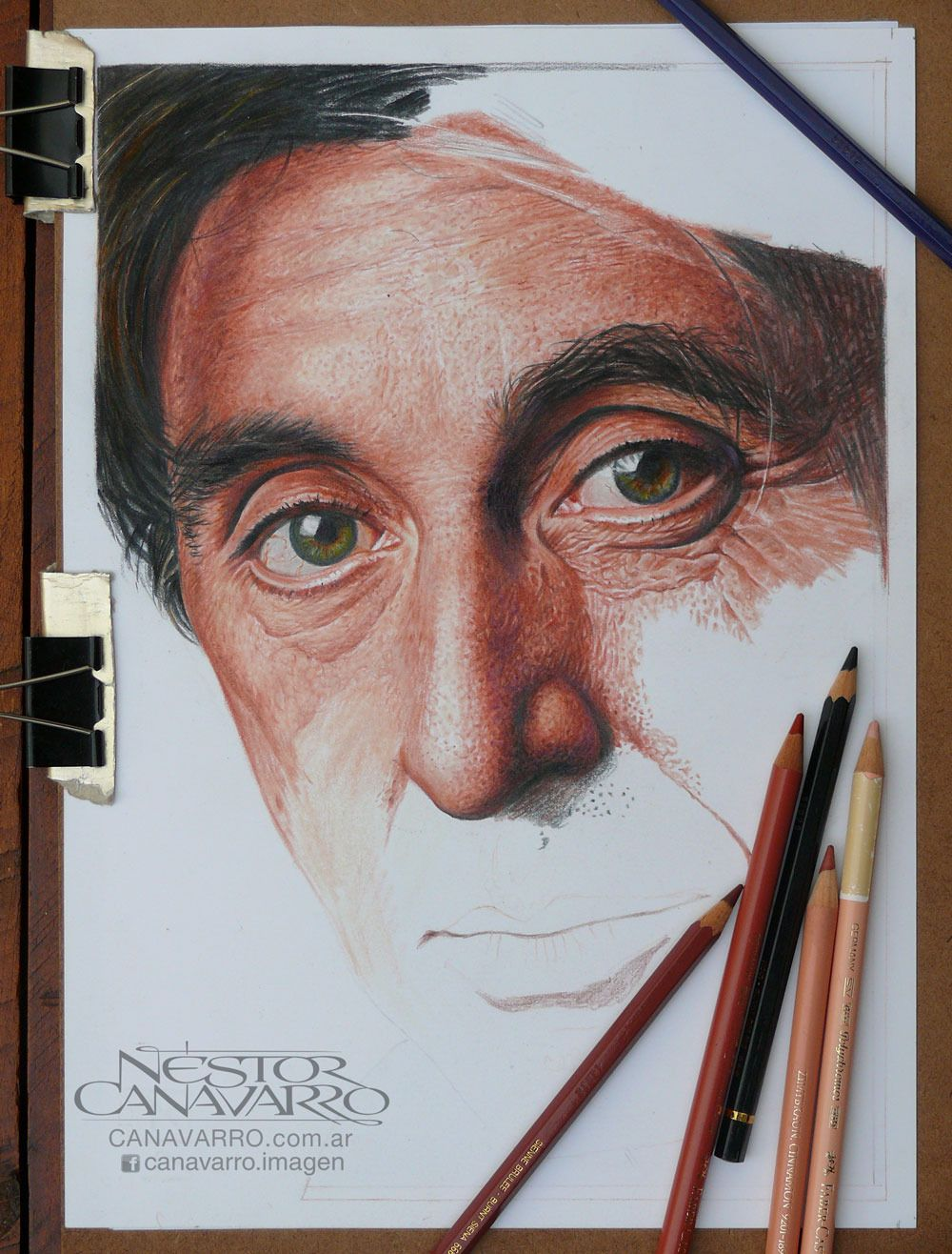 Nestor Cannavaro Google Search DrawPaint Color Pinterest - Amazing hyper realistic pencil drawings celebrities nestor canavarro
