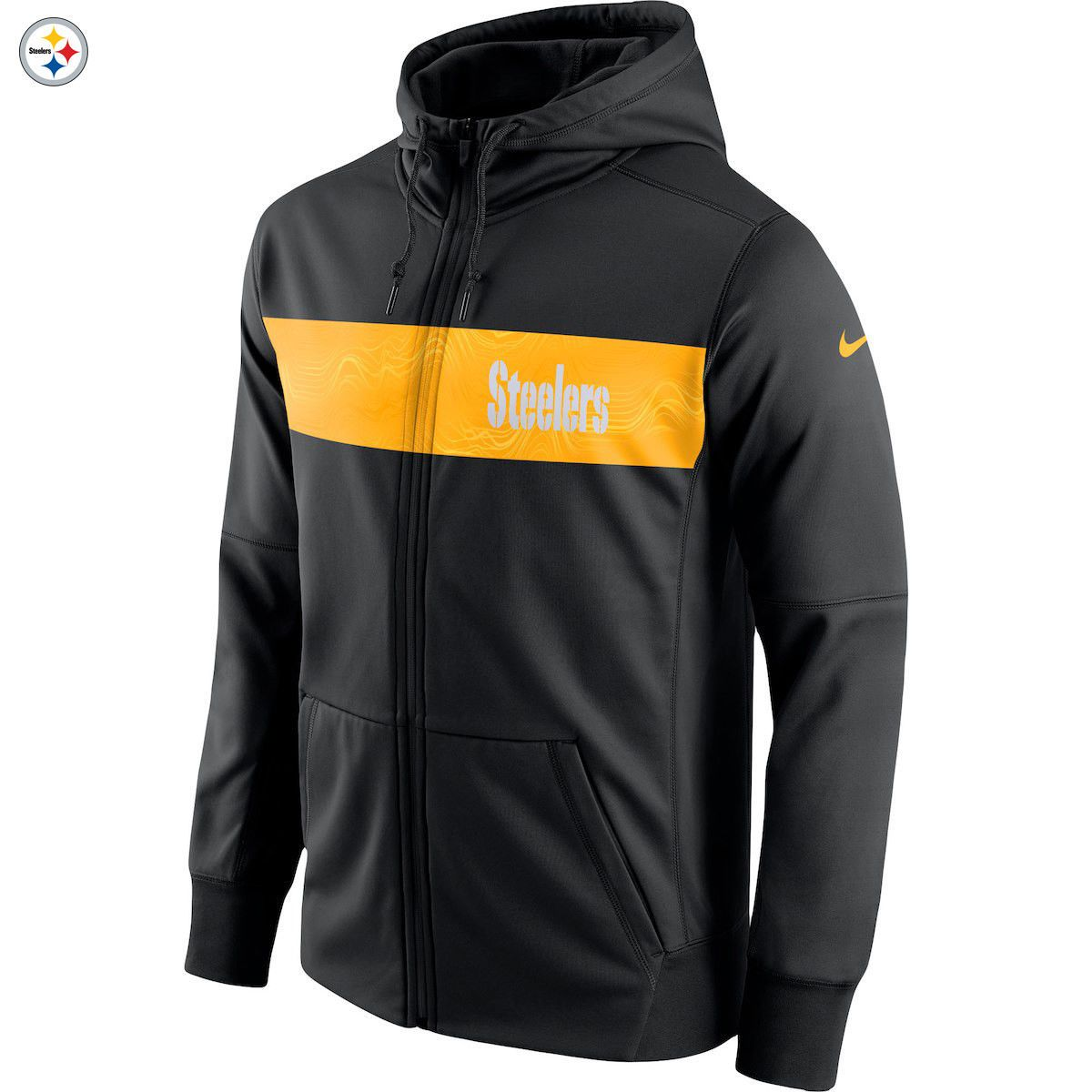 separation shoes 5a496 a8947 Details about Pittsburgh Steelers Nike Team Sideline Full ...