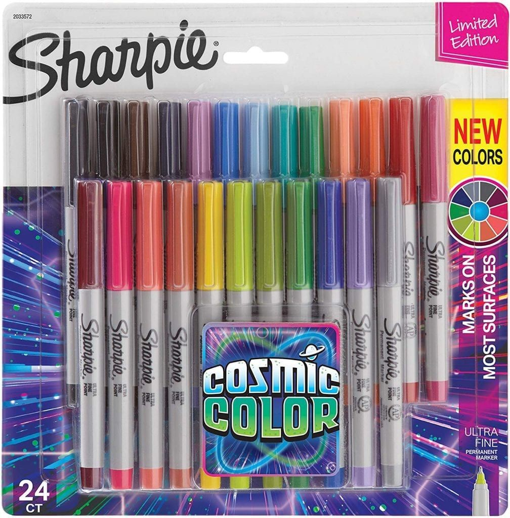 DEAL ALERT Sharpies Ultra Fine Point, Cosmic Color, 24