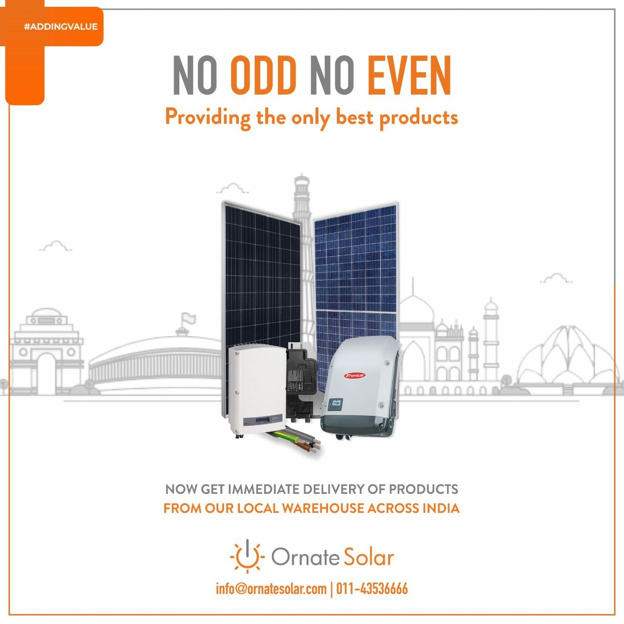 Get The Best Solar Products From The Best And Trusted Supplier Ornate Solar To Know More About Us Visit Https Www Orn Solar Solar Panels Solar Solutions