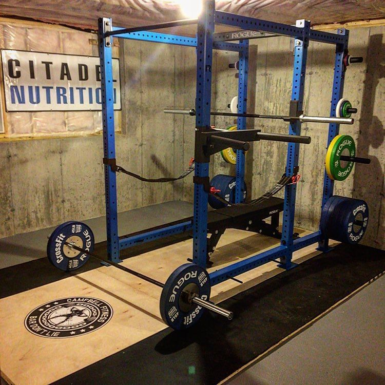 How to build a powerlifting home gym build a damn house at home