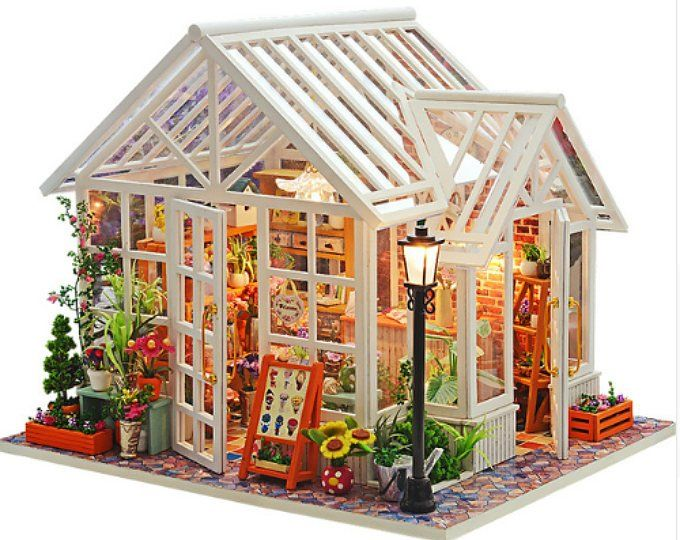 DIY Doll House Wooden Miniatura Doll Houses Miniature Dollhouse Toys with Furniture Kit Toys for Children Gift