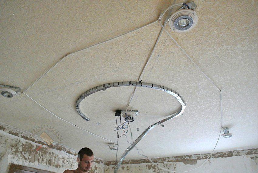Натяжные потолки своими руками что нужно