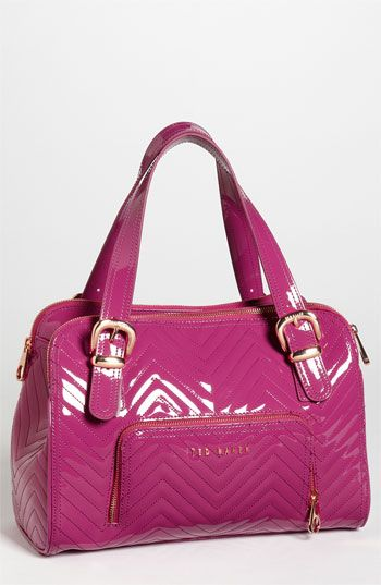 17fb5cff436d Ted Baker London quilted patent tote