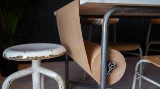 Papirrull til bordduk.