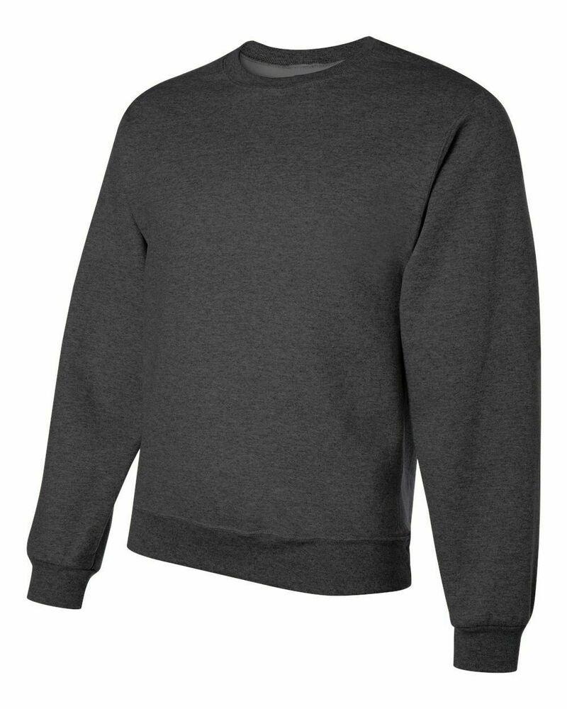 Jerzees Nublend Crewneck Fleece Crew Sweater Sweatshirt Black Heather 4xl Jerzees Sweatshirtcrew In 2021 Black Sweatshirts Sweater Sweatshirt Sweatshirts [ 1000 x 800 Pixel ]
