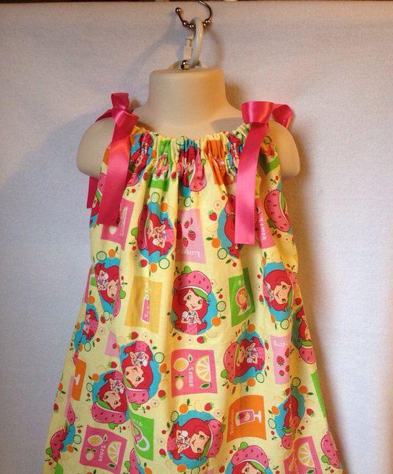Girl Summer Dress - Girl Summer Dress Strawberry Shortcake - Toddler Summer Dress - Vacation Dress -  Sundress - Girl Dress on Etsy, $14.00