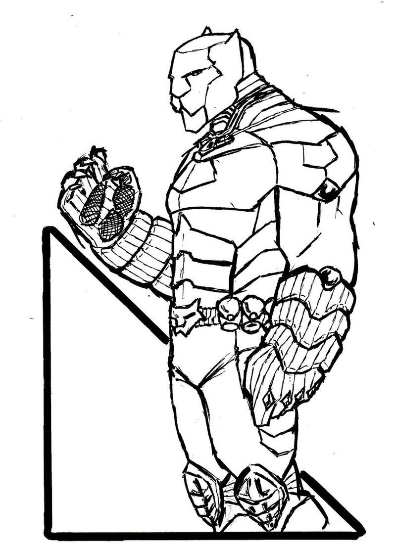 Black Panther Coloring Pages Online Guide At Coloring Pages Api Ufc Com