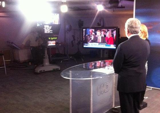 Behind the scenes of CNN Scene, Behind the scenes, News