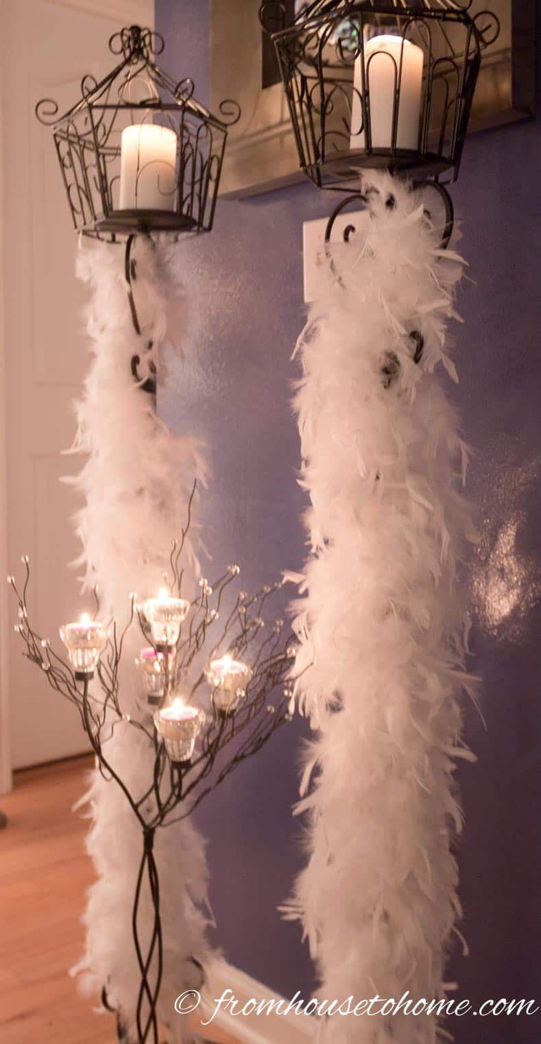 16 Elegant Winter Wonderland Party Ideas #allwhiteparty