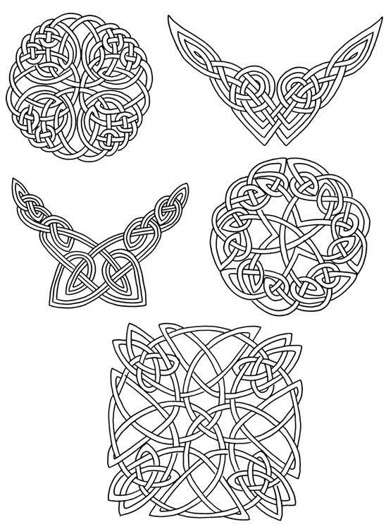 Celtic Designs For Artists And Craftspeople Celtic