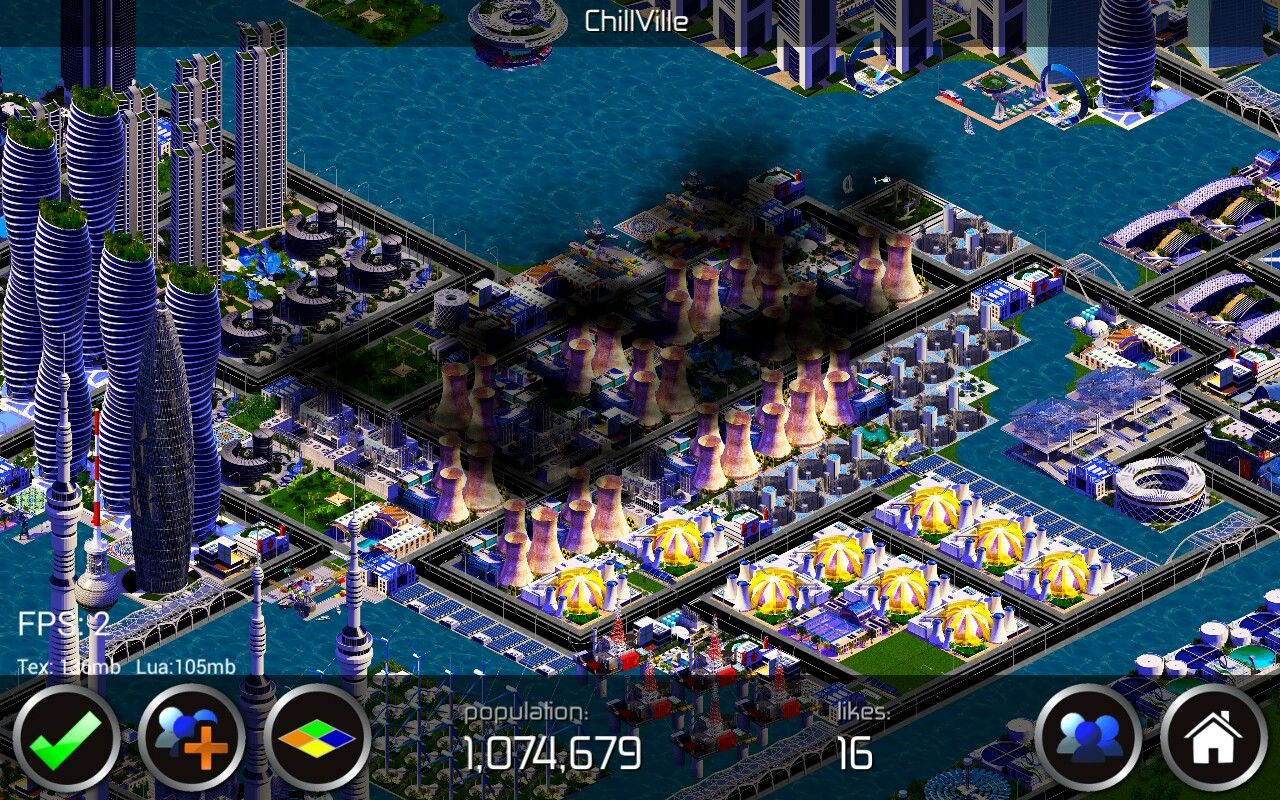 Designer City - Chillville city - Industrial area with