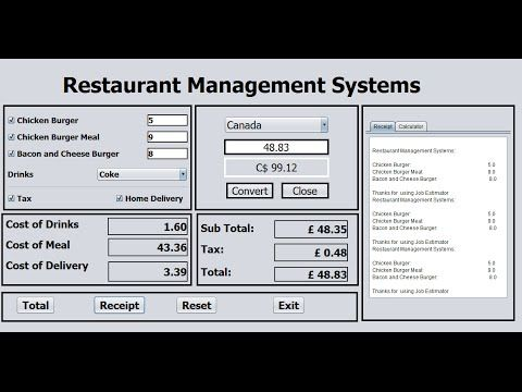 How To Create Restaurant Management Systems In Java Netbeans Full Tutorial How To Create Restaurant Management S Restaurant Management Management Restaurant