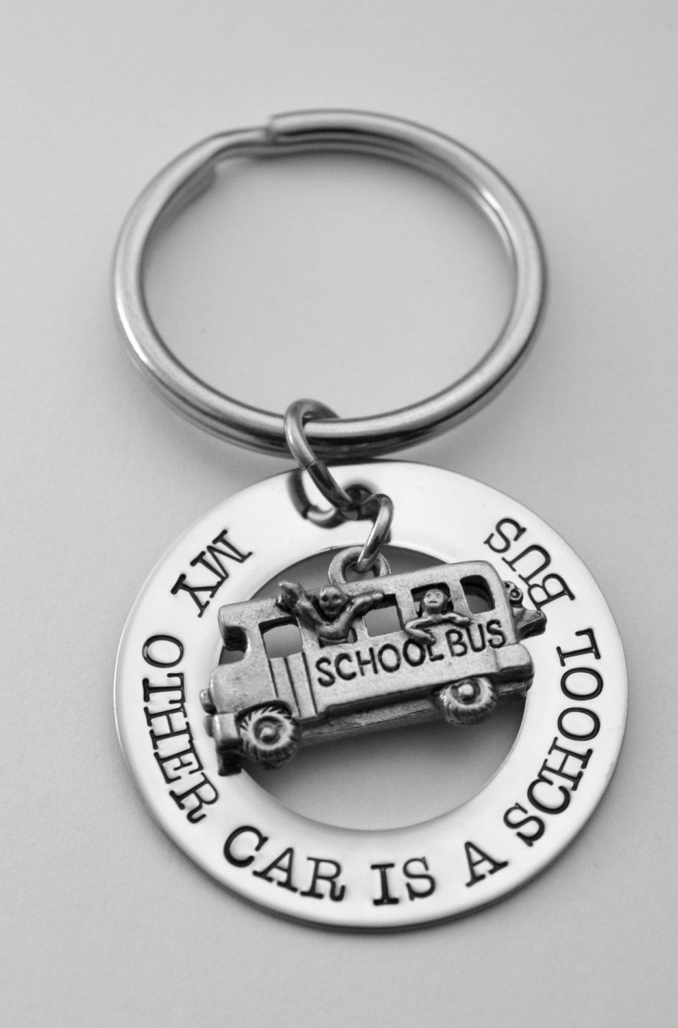 School bus driver key chain bus driver key chain my other car is school bus driver key chain bus driver key chain my other car is a school bus any text that fits stainless steel see all photos solutioingenieria Choice Image
