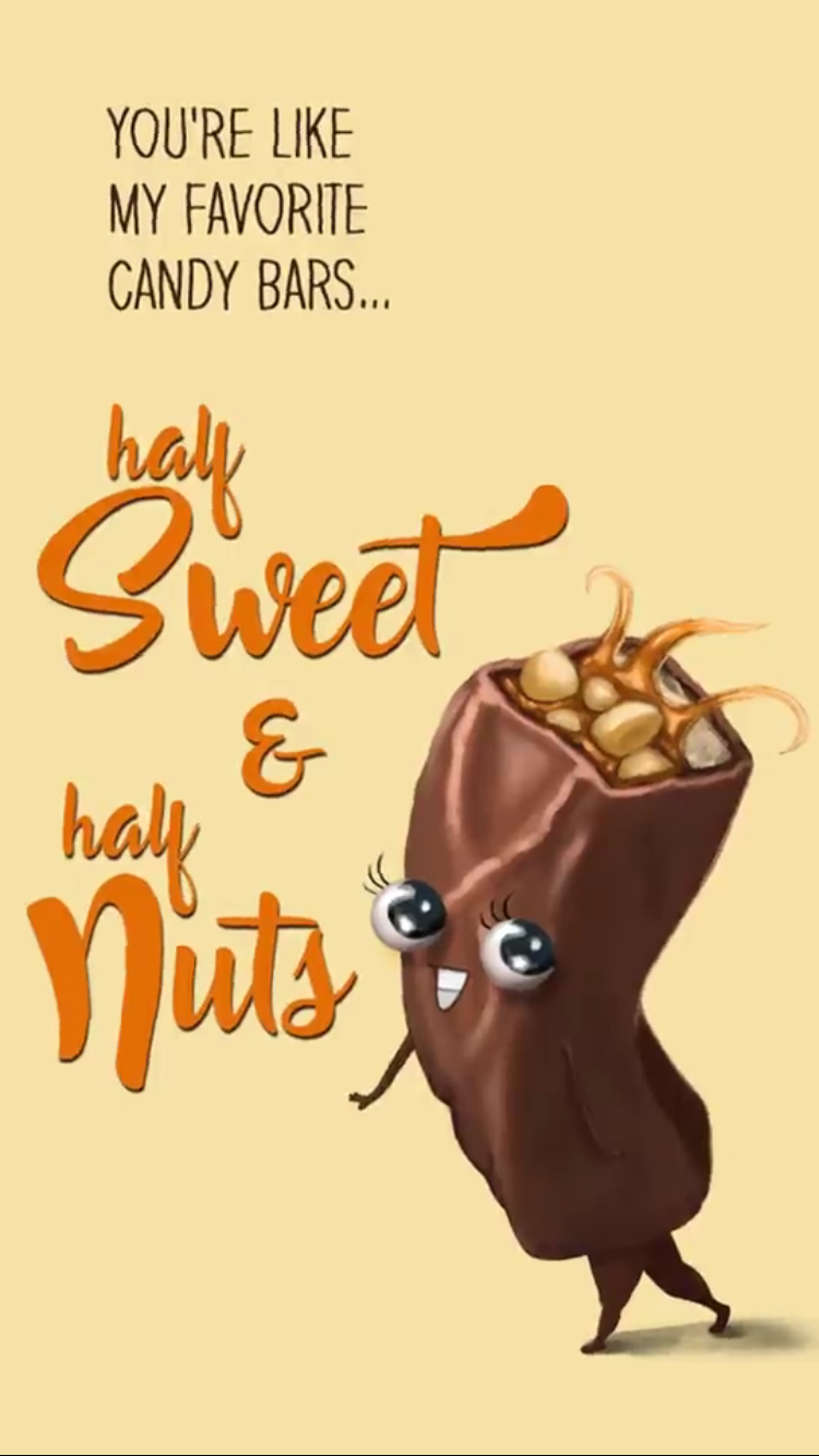 Snickers Funny food puns, Punny puns, Cute puns